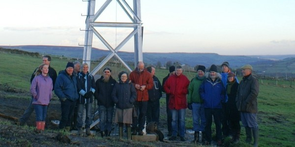 Pennine Community Power: collectively owned wind turbine